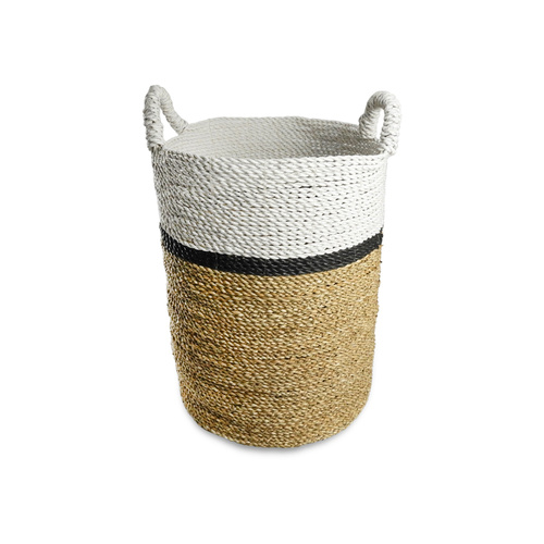 40L Byron Laundry Basket (Thin Stripe)