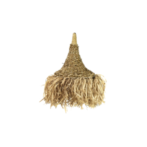 Wild Jungalo Seagrass Pendant Light