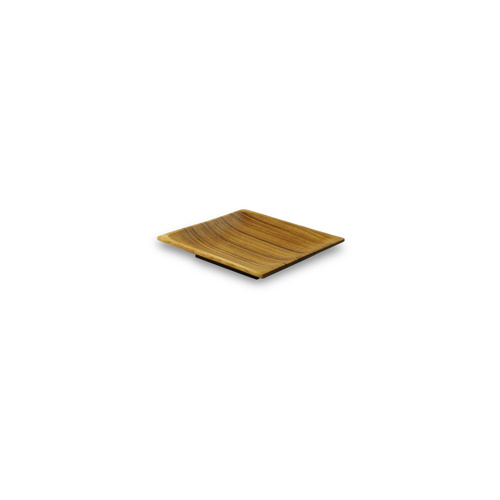 15CM Teak Square Side Plate