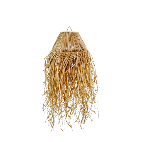Medusa Raffia Natural Pendant Light Shade