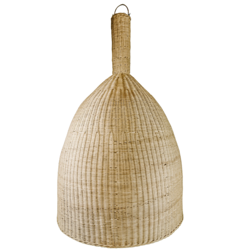 Zehra Natural Rattan Voluminous Light Shade