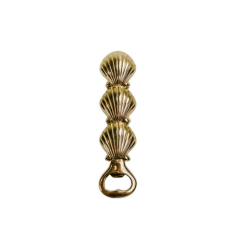 Gold Sea Shell Bottle Opener